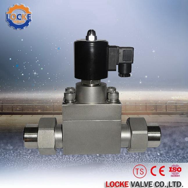 进口焊接超高压电磁阀