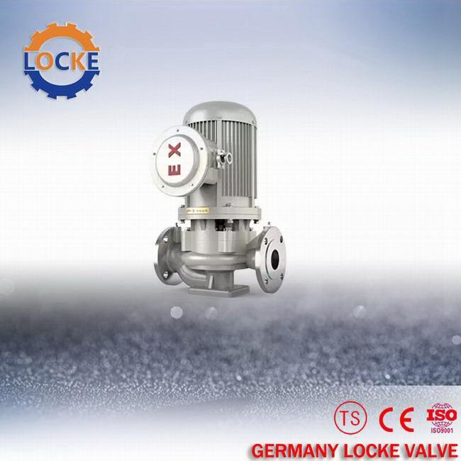 进口立式单级管道离心泵