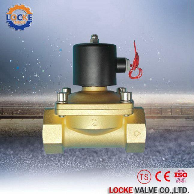 进口水用黄铜电磁阀